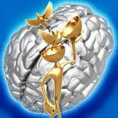 3D Bird Brain Concept