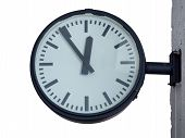 Clock For Train Or Bus Station
