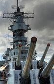 Battleship Missouri Guns