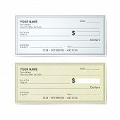 Blank Bank Check Template