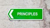 Green Sign - Principles