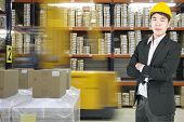 Manager Asian Business In Modern Warehouse