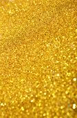 Gold Sequins Background