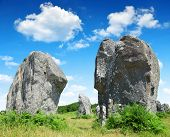 Megalithic monuments in France