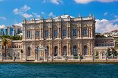 Dolmabahce Palace At Istanbul Turkey