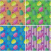 four Easter backgrounds