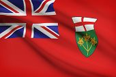 Canadian Provinces Flags Series - Ontario