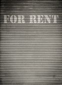 For Rent Store Shutters