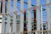 Security Network Of Large Power Station With High Voltage Cables