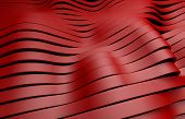 red plastic stripes background
