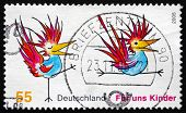 Postage Stamp Germany 2005 Two Birds, Illustration
