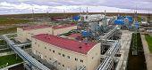 Russia, Nadym - September 5, 2007: ?orporation Gazprom In Novy Urengoy, Yanao, In Russia, Nadym - Se
