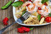 Gourmet Creamy Shrimp Pasta
