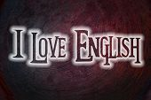 Love English Concept