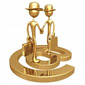Business E-Mail E-Commerce Handshake