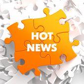 Hot News on Orange Puzzle.