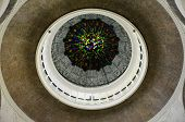 Inside dome of Sultan Sulaiman Mosque in Klang