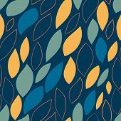 Seamless Abstract Hand-drawn Pattern. Vector Illustration.