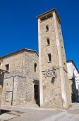 Church of St. Antonio. Guardia Perticara. Basilicata. Italy.