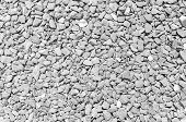 Pebble Black White Stones Background Closeup Of Stones Texture  Monotone