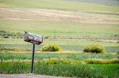 Rusty, Rural Mailbox