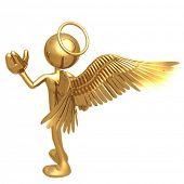 Little Golden Boy Angel