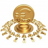 Euro Gold Coin Worship