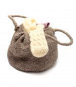 Knitted Woman Handbag