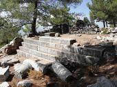 Stairs of Roman Heroon from 2-3 century
