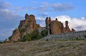 Belogradchik rocks Fortress Landmark, Bulgaria