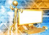 Widescreen Monitor Presenter