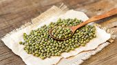 Mung Beans And Spoon