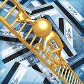 Climbing Golden Ladder Out Of Credit Debt