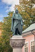 Statue Of Birger Jarl On Obelisk In Stockholm.