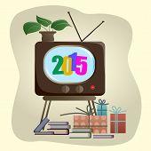2015 - Inscription On The Tv