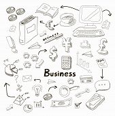 Business Idea icons set. Vector illustration.