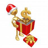 Christmas Gift Dollar