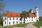 Historic Monastery On Calvary Hill, Bad Tolz, Germany