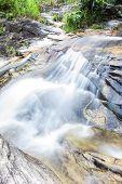 Wang Bua Ban Waterfall In Doi Suthep-pui Nationnal Park , Chiangmai