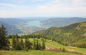 Wallberg Lookout Point To Bavarian Alpine Foothills