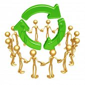 Recycle Unity Circle