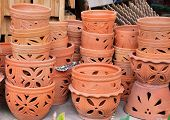 Piles Of Terracotta Pot