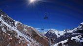 Aconcagua region - ski lift