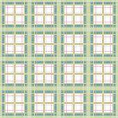 Seamless Retro Checkered Plaid Pattern