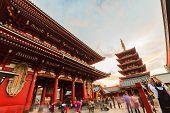 Sensoji, Also Known As Asakusa Kannon Temple Is A Buddhist Temple.
