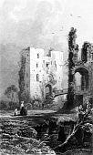 Постер, плакат: Старый Английский замок