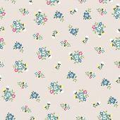 Seamless Tiny Cute Flower Pattern