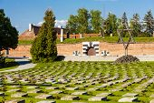 Small Fortress Theresienstadt with cemetery, Terezin, Czech Republic