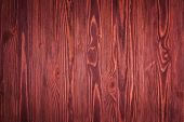 Marsala old wood background - wooden planks texture close up