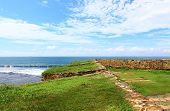 The Bastion of the Fort of Galle, with cutouts for guns